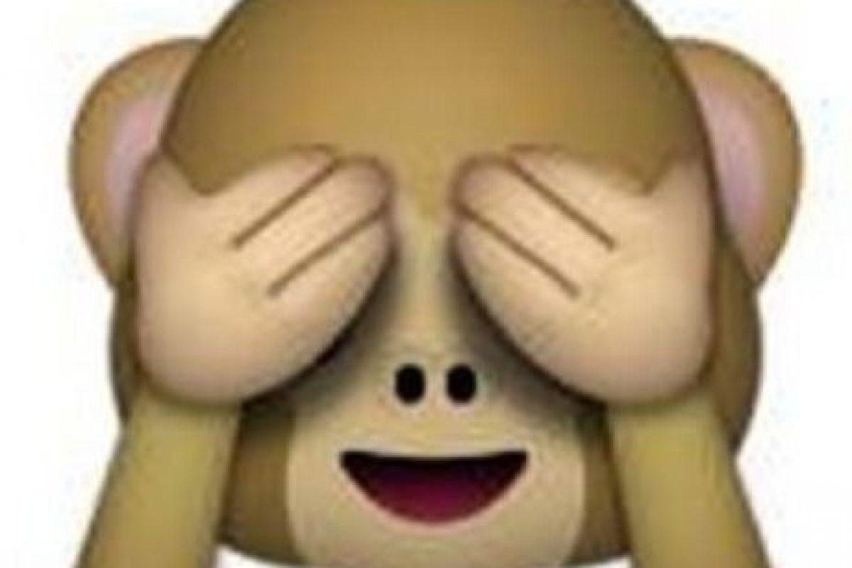"""Es uno de los tres monos sabios, parte de un proverbio budista, que en este caso es: """"No voy a ver el mal"""". Utilizado para: """"No quiero ver eso"""". Foto:Pinterest. Imagen Por:"""