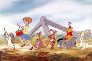 """""""Piglet"""", """"Tigger"""", """"Conejo"""", """"Igor"""" """"Christopher Robin"""", """"Rito"""", """"Cangu"""" y """"Búho"""" Foto:Walt Disney. Imagen Por:"""