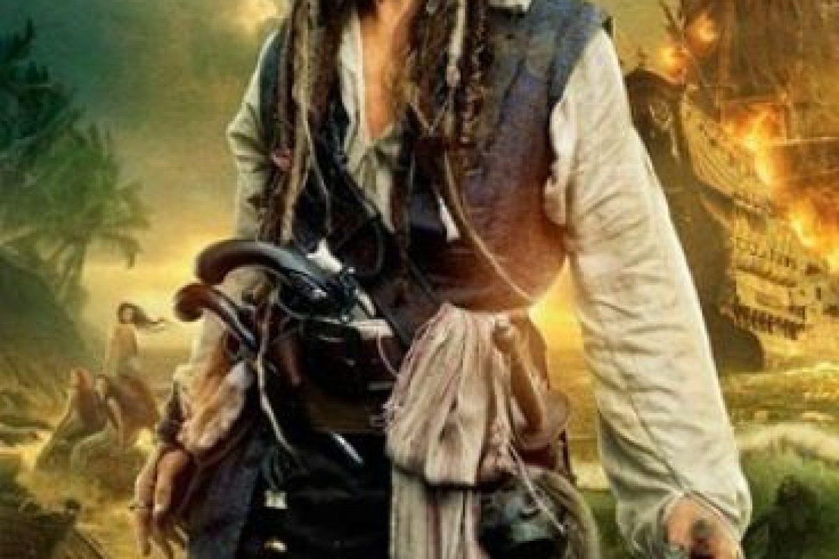 """""""Piratas del Caribe: Los hombres muertos no cuenta ningún cuento"""" – 17 de julio de 2017 Foto:Disney. Imagen Por:"""