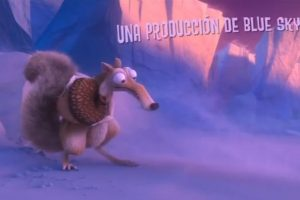 """En la historia de la """"Era de Hielo"""", """"Scrat"""" siempre está intentando atrapar una bellota. Foto:20th Century Fox. Imagen Por:"""