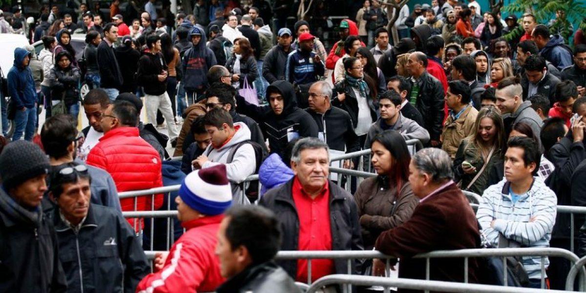Registro Civil: largas filas marcan reinicio del servicio tras fin del paro