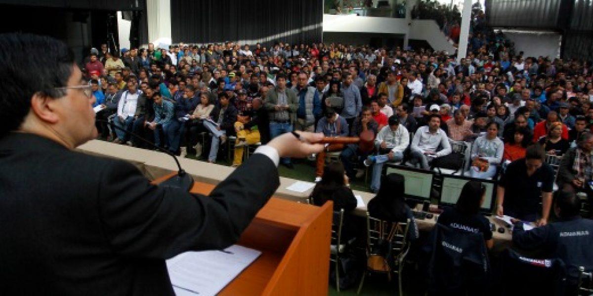 Aduanas recuadó más de 105 millones de pesos en su última subasta del año