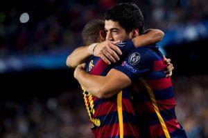 Y Suárez ha marcado nueve dianas Foto:Getty Images. Imagen Por: