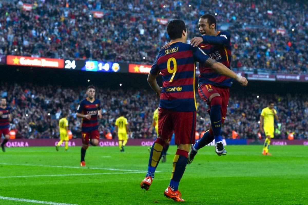 Neymar ha mandado el balón a las redes en 11 ocasiones Foto:Getty Images. Imagen Por: