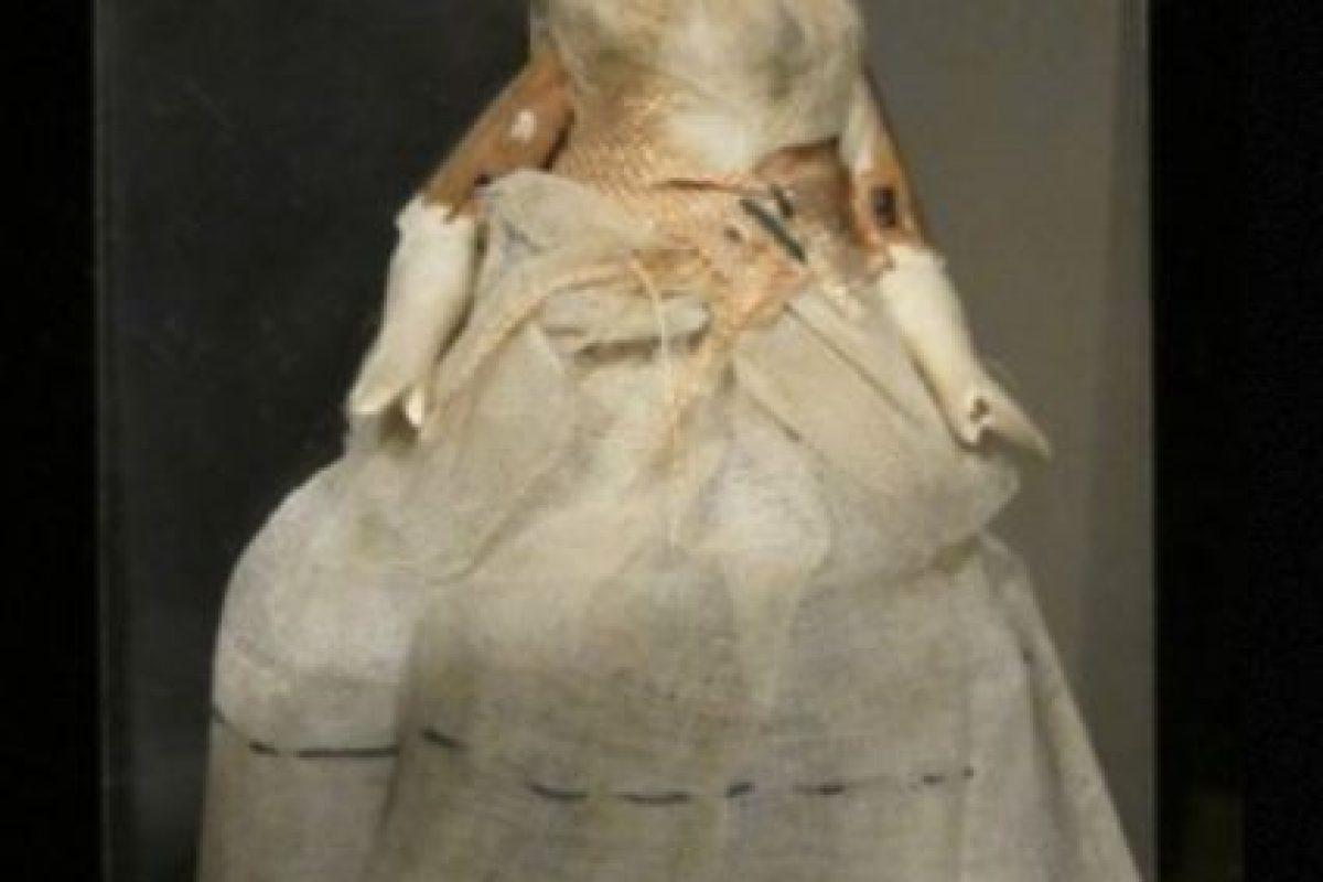 La muñeca de Patty Reed: no está poseída, pero hace parte de una macabra historia. Foto:vía California Departments of Parks and Recreations. Imagen Por: