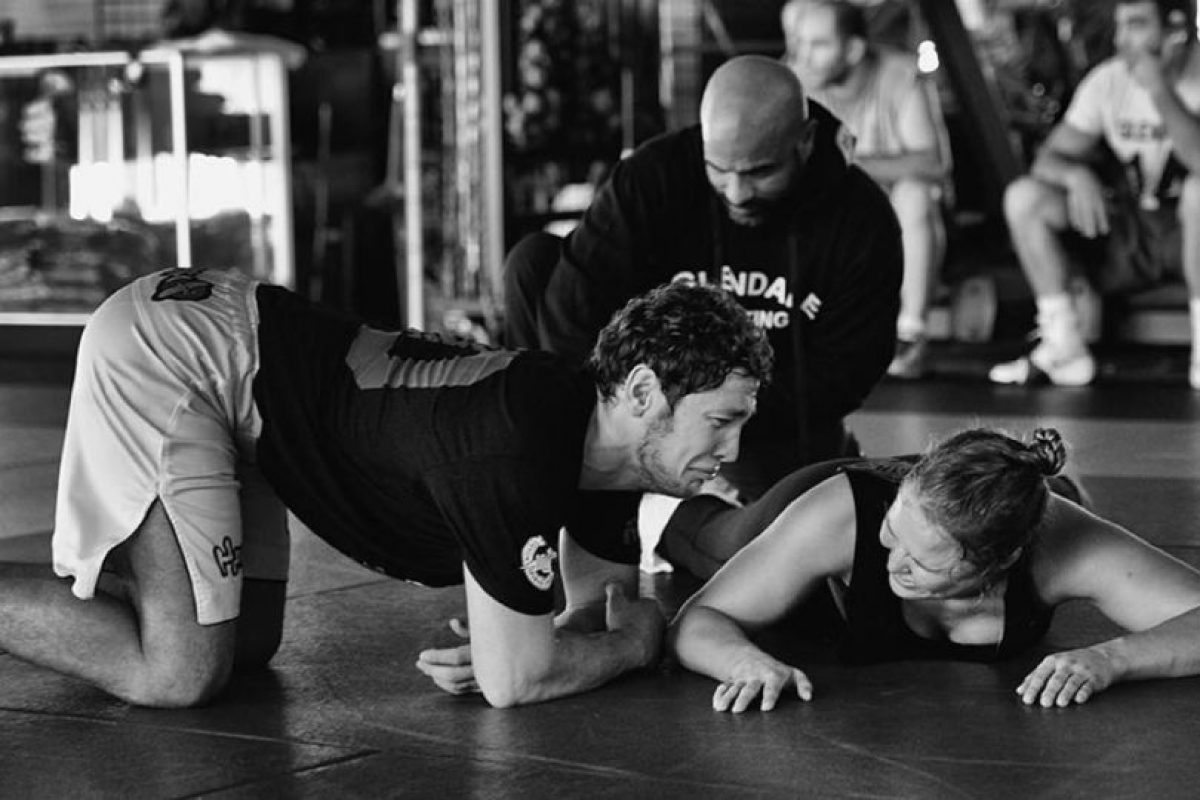 Miren las mejores imágenes del entrenamiento de Ronda Rousey: Foto:Vía instagram.com/rondarousey. Imagen Por: