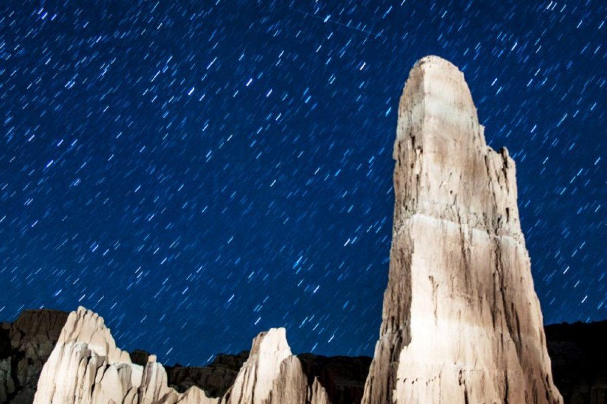 Así se ve una lluvia de estrellas desde la Tierra. Foto:Getty Images. Imagen Por: