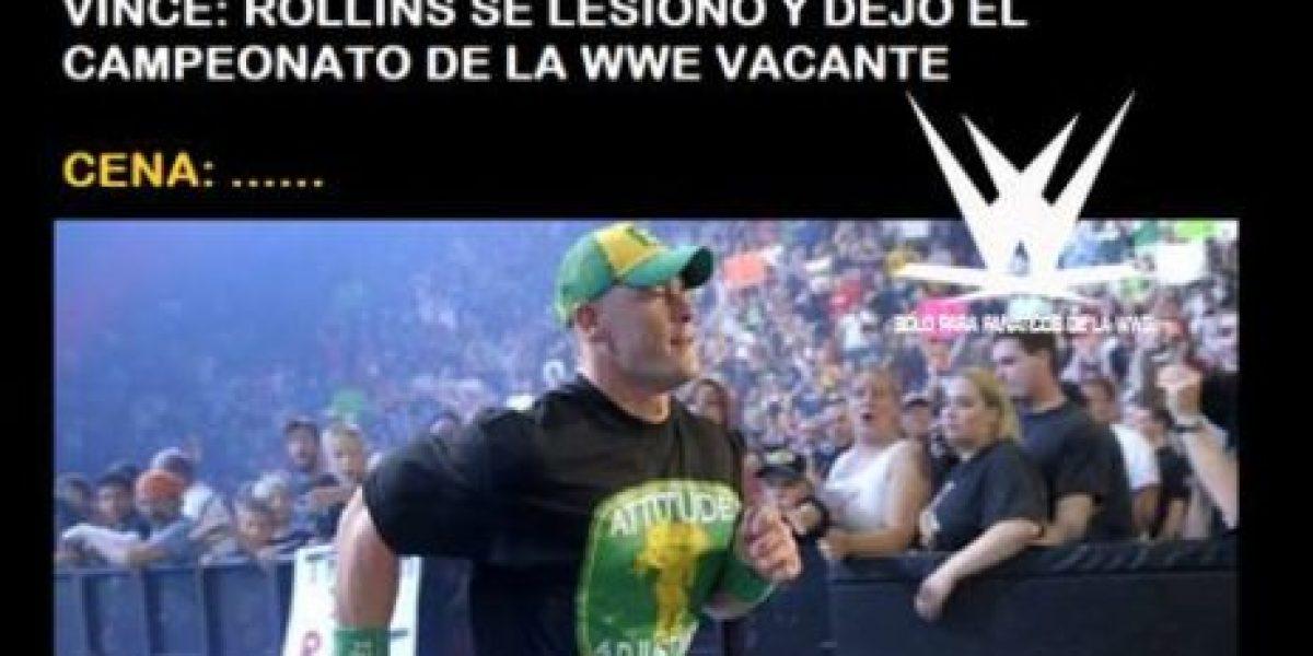 WWE: Los mejores memes por la lesión de Seth Rollins