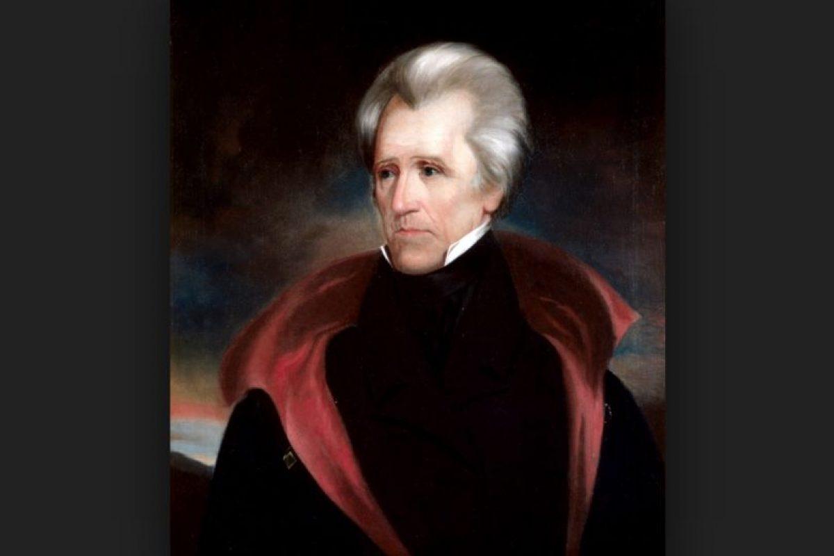 Sin embargo no ha sido el único. Andrew Jackson, otro presidente ha espantado a la gente. Foto:Vía wikipedia.org. Imagen Por: