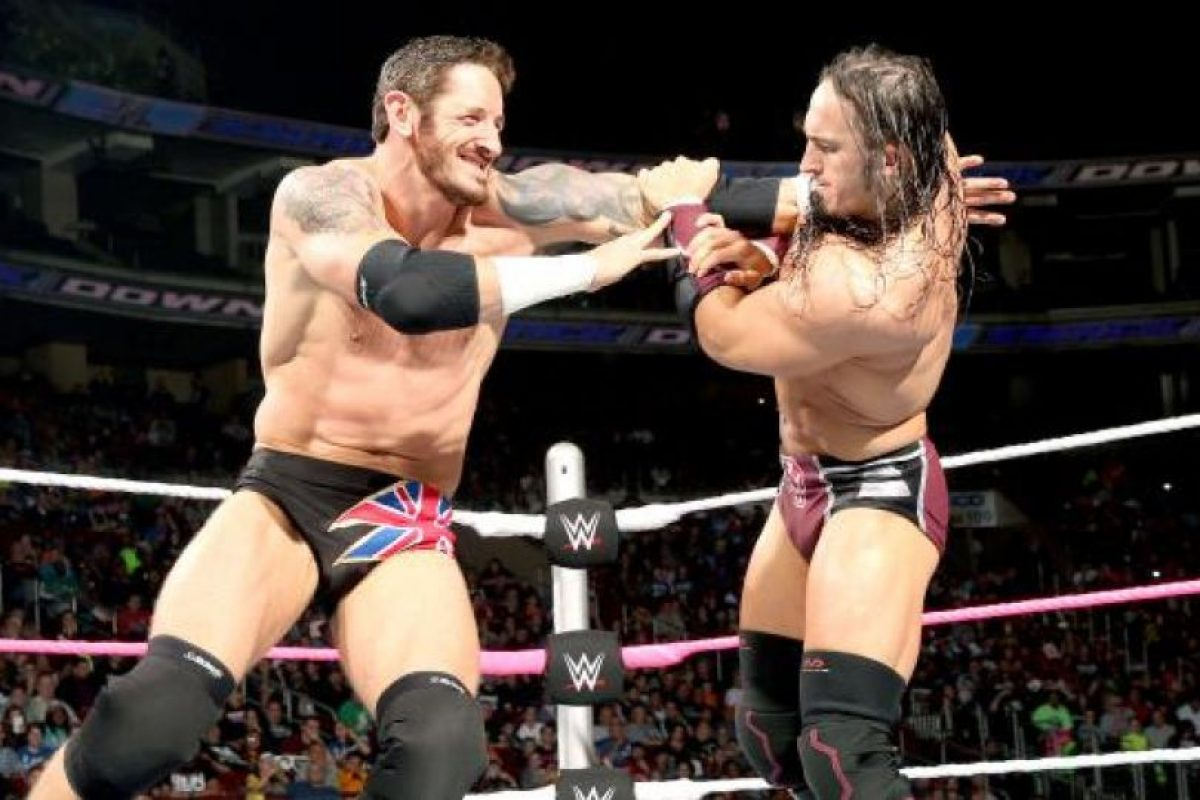 Ha peleado como Stu Sanders, King Barrett, Bad News Barrett y Wade Barrett Foto:WWE. Imagen Por: