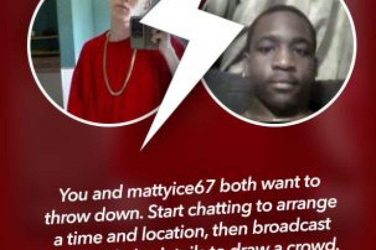 """Si esa persona también quiere pelear con ustedes, habrá un """"match"""" Foto:Getrumblr.com. Imagen Por:"""