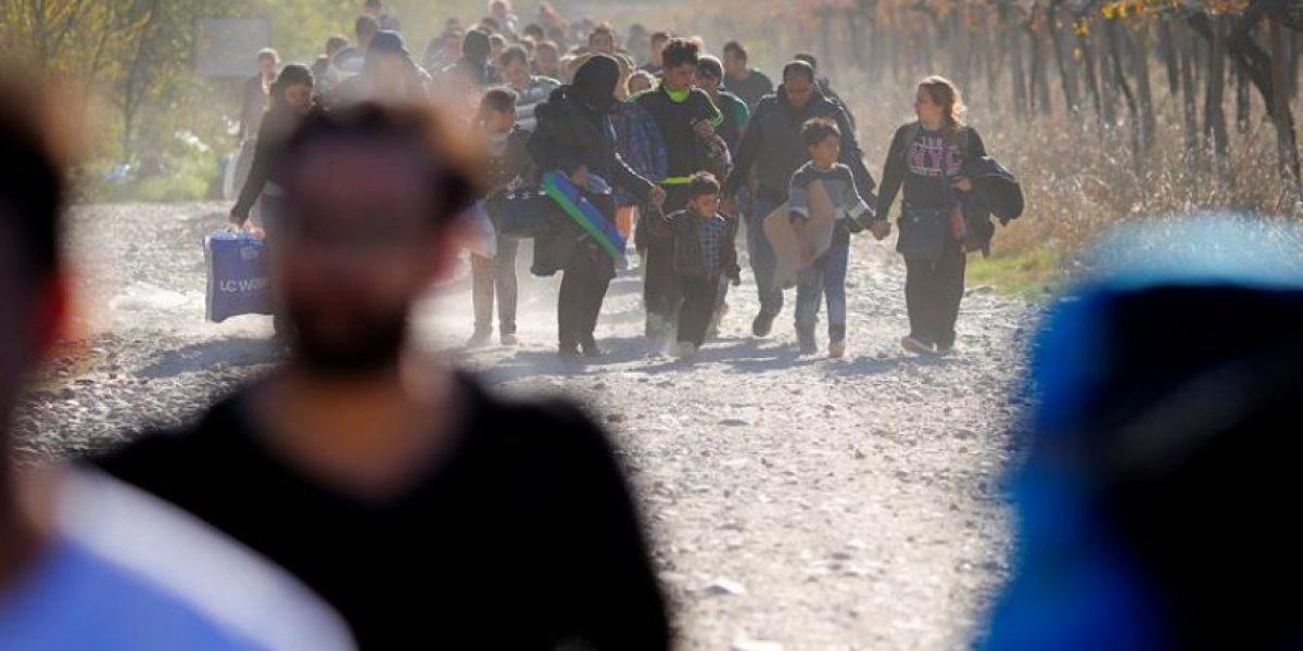 Crisis de refugiados: Eslovenia refuerza su frontera con Croacia