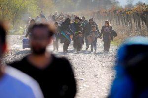 Los inmigrantes procedientes de Oriente Medio buscan atravesar la región de los Balcanes para llegar a Austria y Alemania. Foto:Efe. Imagen Por: