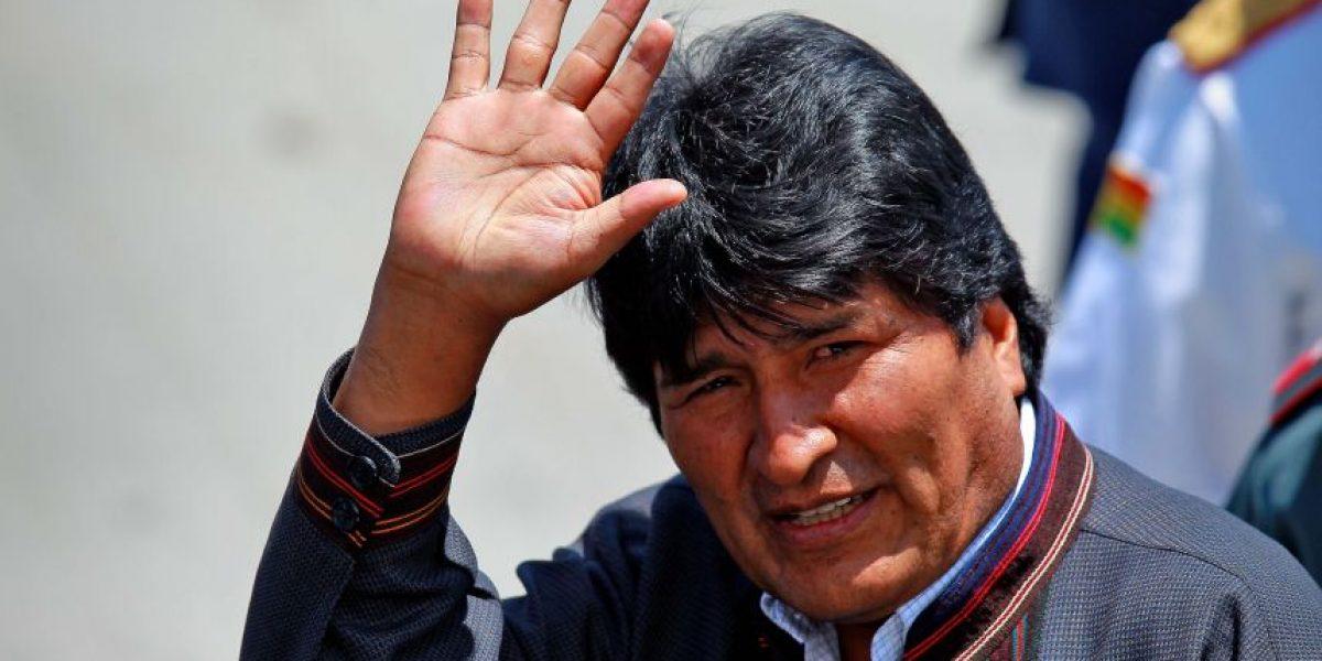 El embarazoso momento que vivió Evo Morales durante su gira a Europa