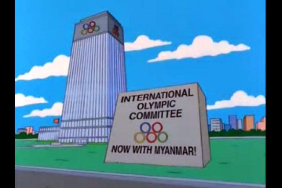 """5- """"El abuelo y el estudiante de bajas calificaciones"""" (10×20): en este capítulo, Bart arruina la posibilidad de que los Juegos Olímpicos se realicen en Springfield. Foto:Captura Youtube. Imagen Por:"""