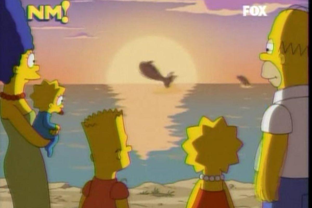 """4- """"La Niña y La Ballena"""" (21×19): En este capítulo se hace una referencia a la película """"Liberen a Willy"""" y Lisa termina liberando una ballena, con ayuda de su familia. Foto:Captura Youtube. Imagen Por:"""
