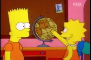 """1- """"Bart contra Australia"""" (6×16): Bart y Lisa discutiendo sobre la dirección que adopta el agua en el retrete cuando tiran la cadena. Foto:Captura Youtube. Imagen Por:"""