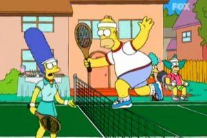 """3- """"Juego Limpio"""" (12×2): Homero dice:""""Todos los deportes tienen un payaso adorable: el Marhomero, la chiquita, Zamorano"""", haciendo referencia a Iván Zamorano Foto:Captura Youtube. Imagen Por:"""
