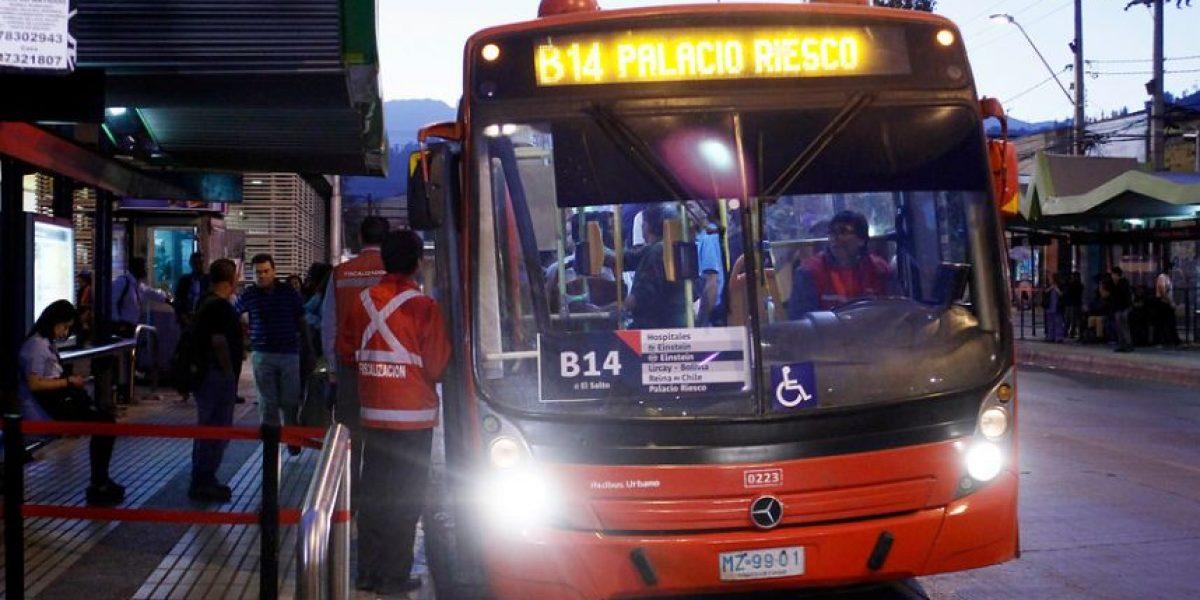 Analizan aplicar tarifas bajas para recorridos cortos de Transantiago