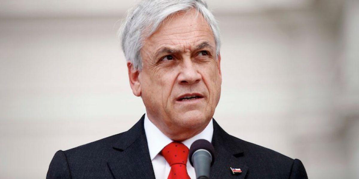 Piñera lanza dardos contra Donald Trump: