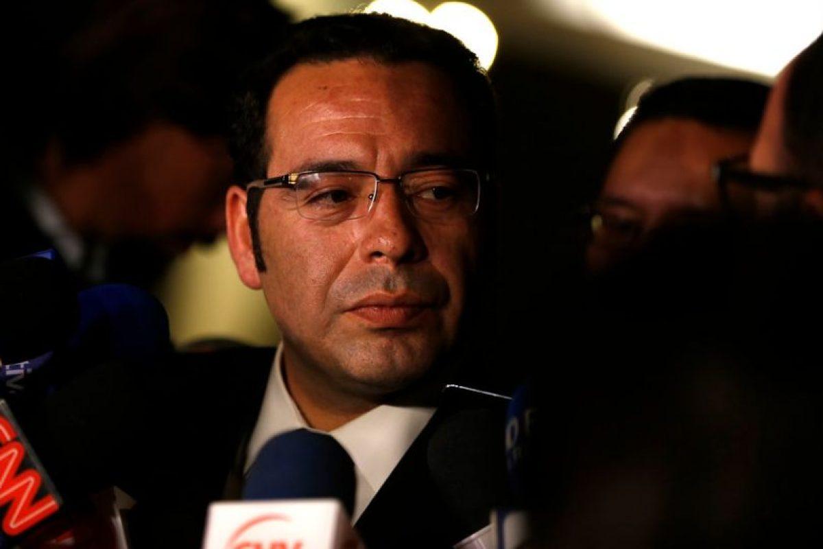 Luis Acevedo, director del Registro Civil Foto:Agencia Uno. Imagen Por: