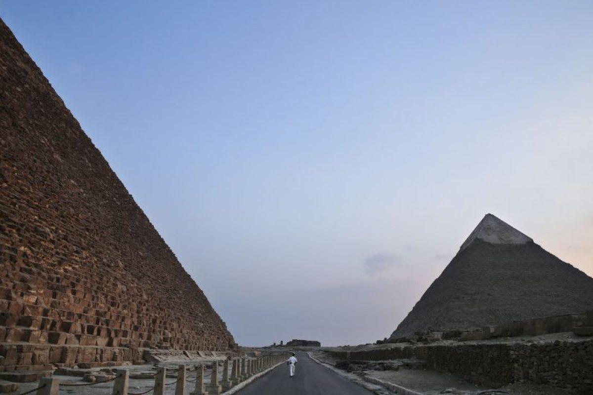 Además de ser la mayor de las pirámides de Egipto. Foto:AP. Imagen Por: