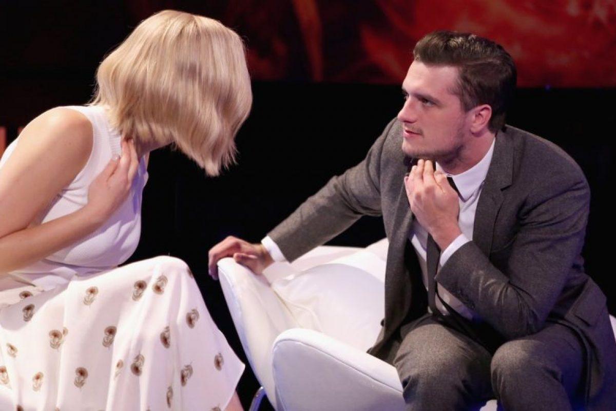 Jennifer Lawrence tiene una manía que irrita al actor estadounidense, Josh Hutcherson. Foto:Getty Images. Imagen Por: