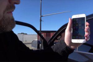 Finalmente el iPhone 6s resistió los impactos. Foto:Unbox Therapy / YouTube. Imagen Por: