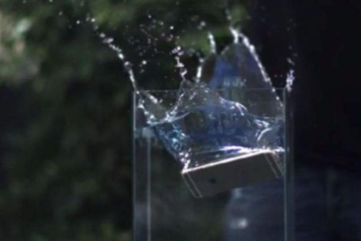 4- Simplemente no pudo ante el agua. Foto:Rated RR / YouTube. Imagen Por:
