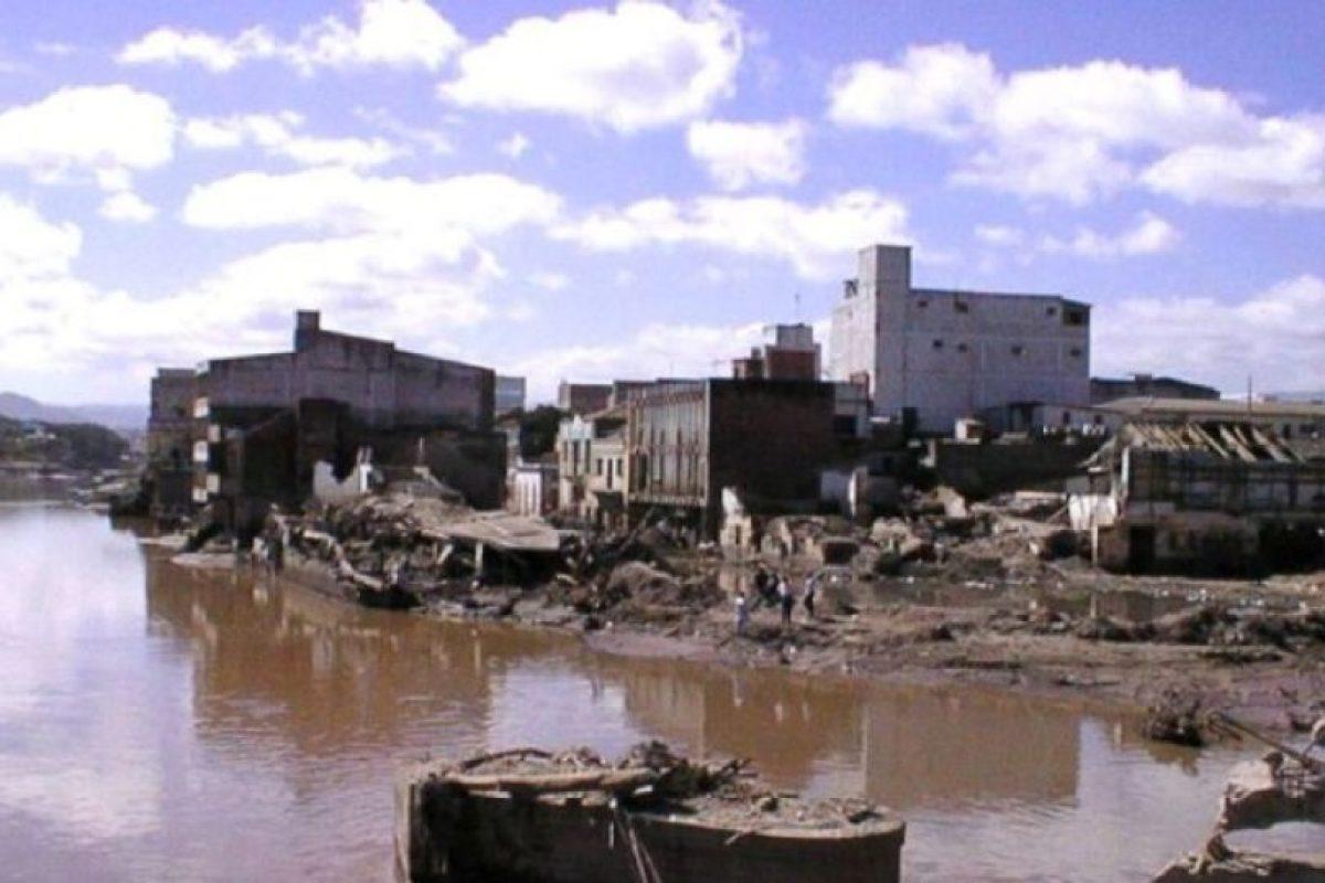 Huracán Mitch. En 1998, Mich arrasó la parte central de América dejando 18 mil muertos Foto:Wikimedia Commons. Imagen Por: