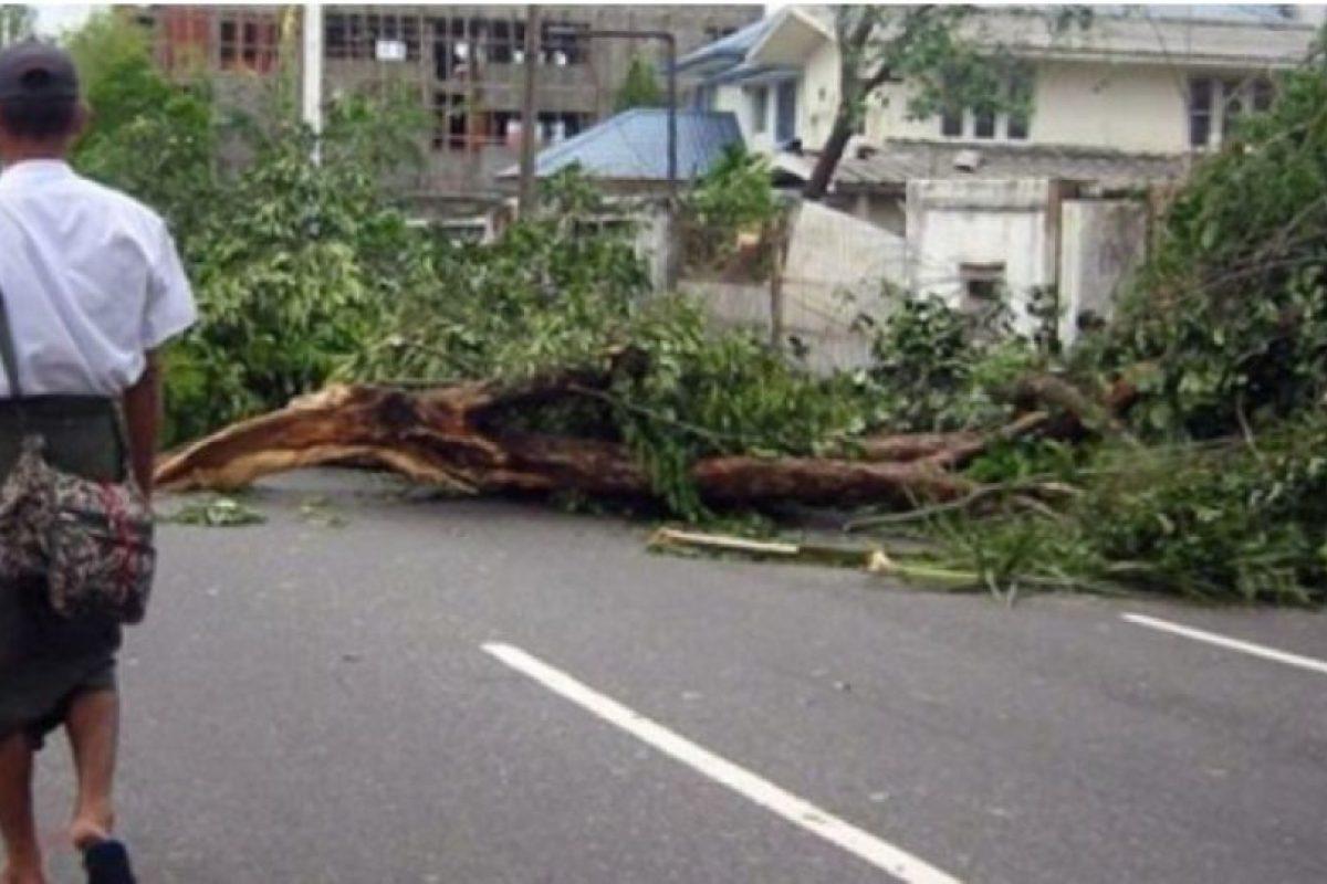 Ciclón Nargis (2008). Arrasó con Birmania matando a 138 mil personas. Los daños se estimaron en 10 mil millones de dólares Foto:Wikimedia Commons. Imagen Por: