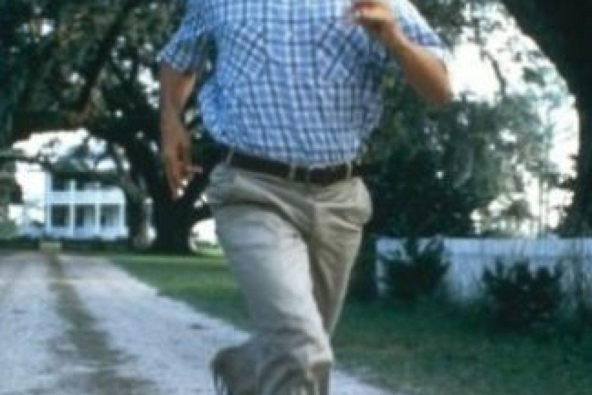 "8- ""Forrest Gump"" corriendo. Foto:IMDB. Imagen Por:"