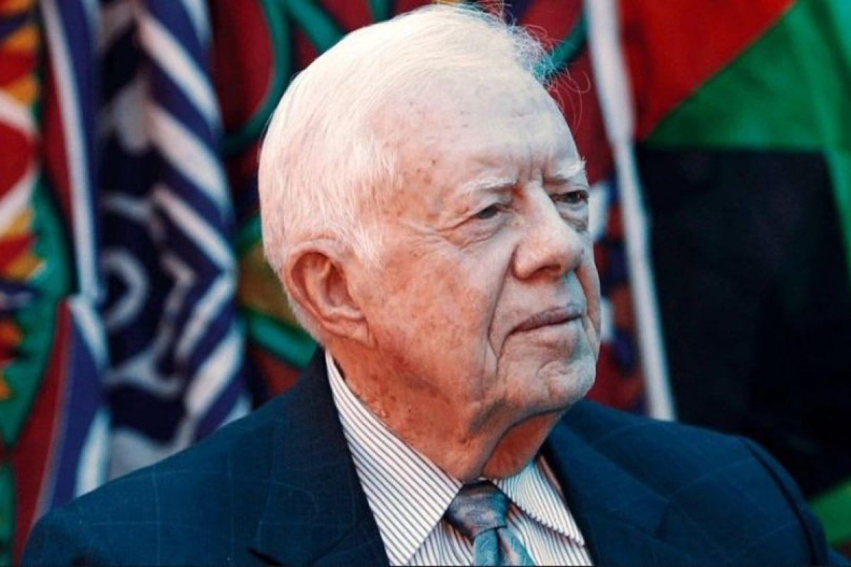 El expresidente de Estados Unidos, Jimmy Carter: Afirmó haber visto un ovni cuando era gobernador de Georgia, en 1969. Luego trató de desmentirlo antes de morir. Foto:Getty Images. Imagen Por: