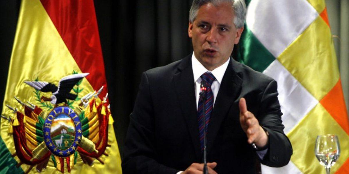 """Vicepresidente de Bolivia dice que Chile está """"desesperado y aislado"""""""