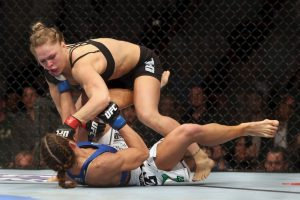 """Pelearon el 23 de febrero de 2013, en """"UFC 157"""" Foto:Getty Images. Imagen Por:"""