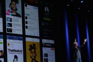 Jimmy Iovine fue el encargado de presentar la aplicación. Foto:Getty Images. Imagen Por: