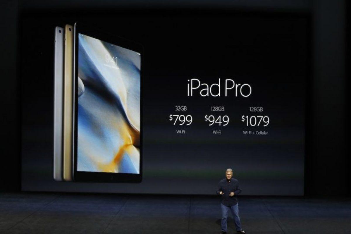 Precio: 799 dólares (32GB + Wi-Fi), 949 dólares (128GB + Wi-Fi) y 1,079 dólares (128GB + W-iFi). Foto:Getty Images. Imagen Por: