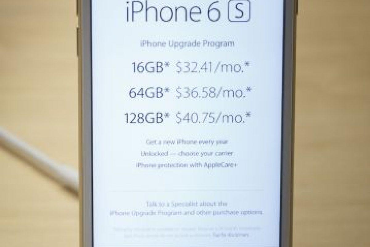 El precio del iPhone 6s comienza en los 649 dólares. Foto:Getty Images. Imagen Por: