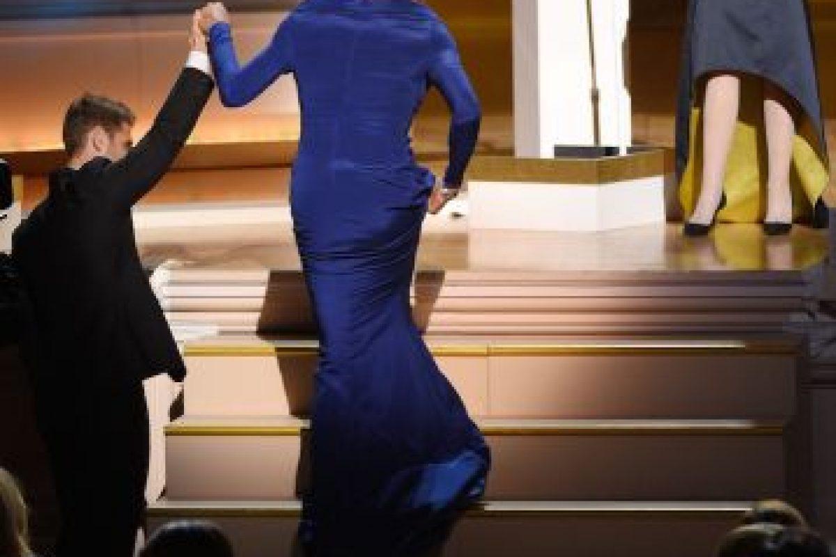 """""""Cuando se trata de cuestiones de género, todos los que estamos presentes en esta habitación realizamos nuestro propio viaje"""", explicó Caitlyn Jenner tras recoger el galardón"""". Foto:Getty Images. Imagen Por:"""