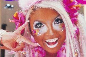 """Cabe destacar que con los años la cultura """"Gangura"""" evolucionó hasta convertirse en la moda llamada Manba, en la que aparte de toda esta caracterización se añade un maquillaje blanco alrededor de los ojos. Foto:Twitter. Imagen Por:"""