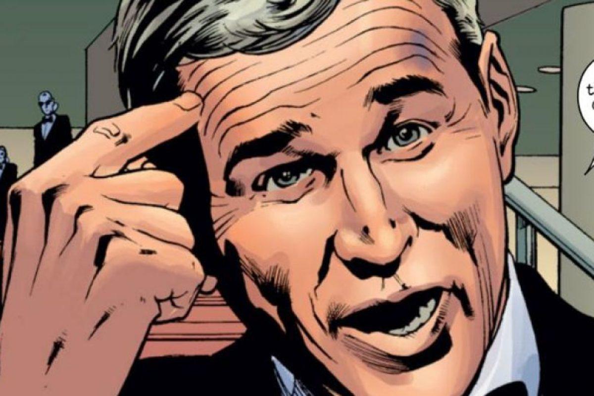 George Bush, expresidente de Estados Unidos, también aparece en varios cómics de Marvel. Foto:vía Marvel Cómics. Imagen Por: