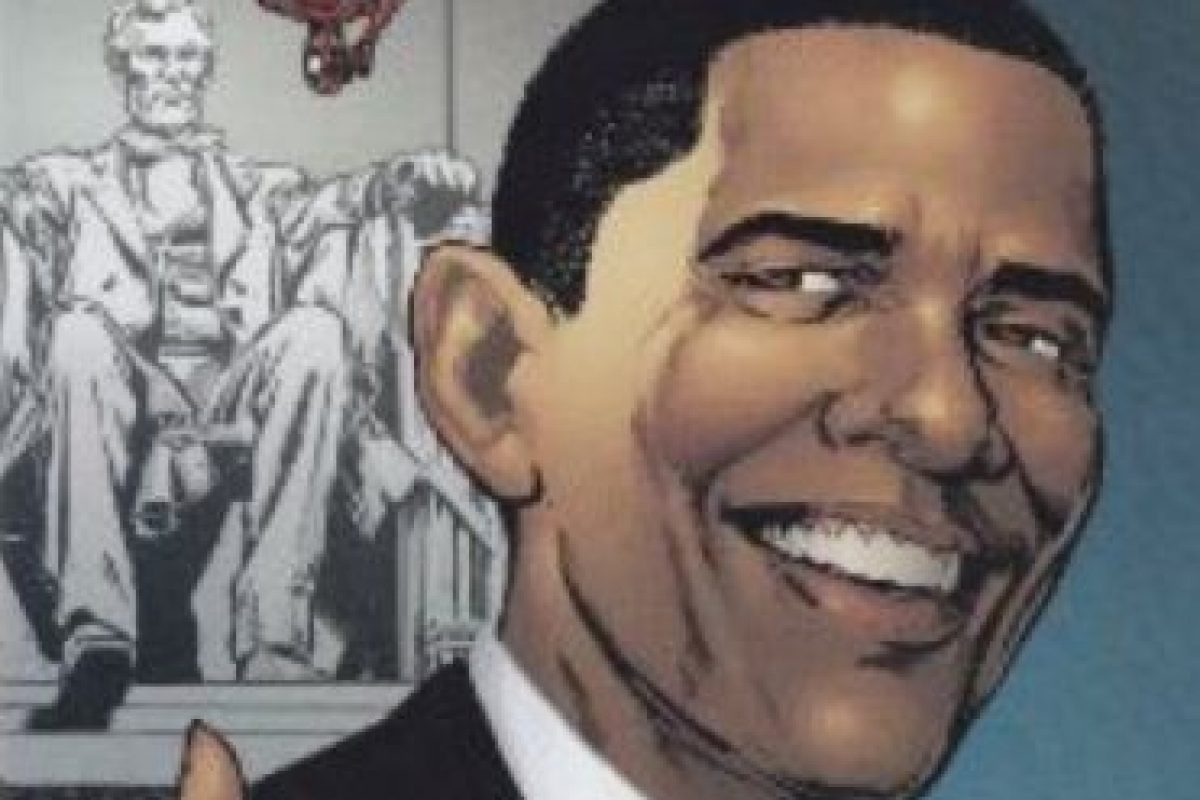 """Barack Obama salió en un cómic de """"Spiderman"""". Foto:vía Marvel Cómics. Imagen Por:"""