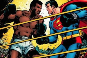 Muhammad Alí se enfrentó a Superman. Y le ganó. Foto:vía DC Cómics. Imagen Por: