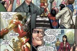 """El gurú de la moda ayuda a """"Iron Man"""" a combatir a un villano que quiere arruinar su exposición de trajes en el """"Museo de la Moda de Nueva York"""" (o lo que sería el museo del FIT). Foto:vía Marvel Cómics. Imagen Por:"""