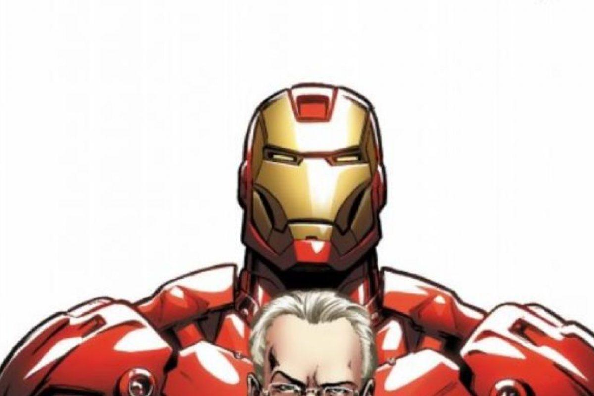 "Tim Gunn apareció en un cómic de ""Iron Man"" en 2009. Foto:vía Marvel Cómics. Imagen Por:"