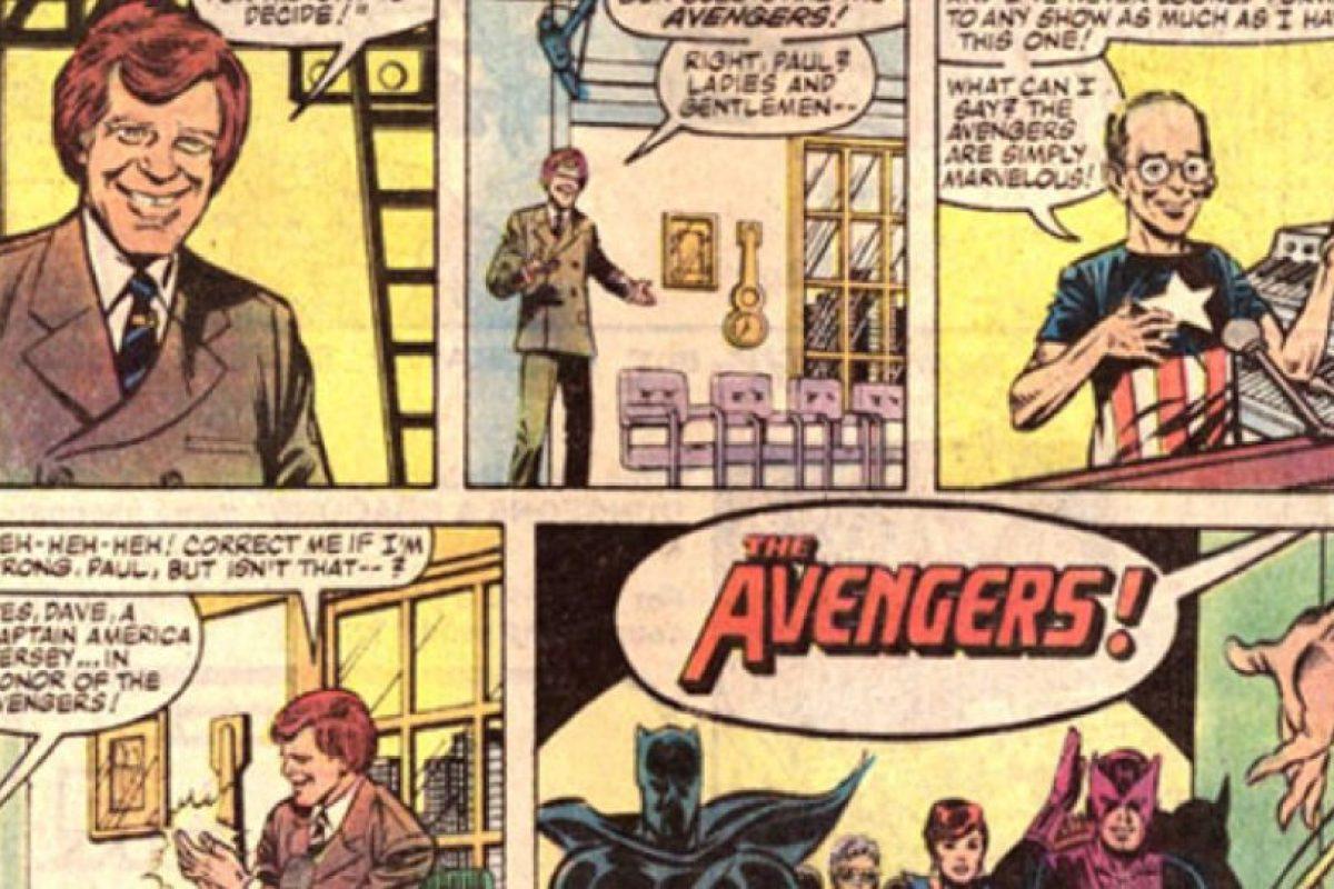 Concretamente, en 1984. Los invita a su programa. Foto:vía Marvel Cómics. Imagen Por: