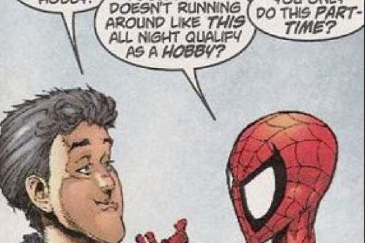 Lo peor son los chistes. Foto:vía Marvel Cómics. Imagen Por: