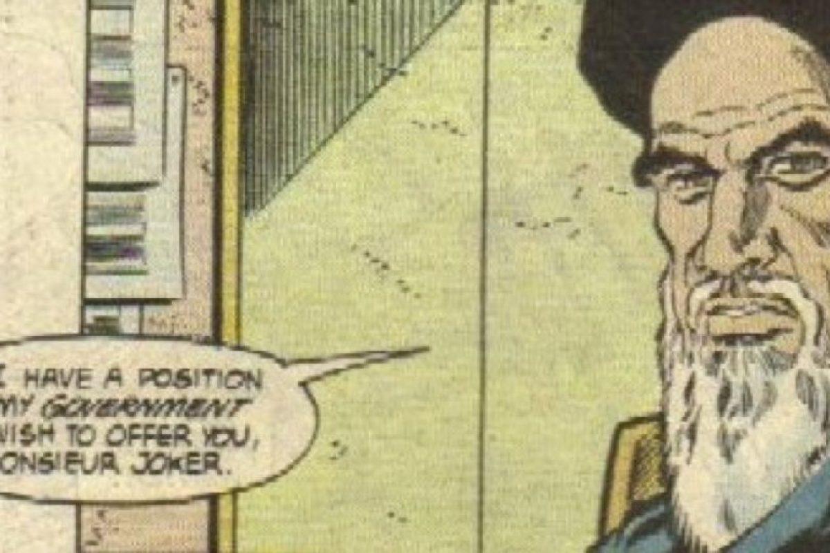 Principalmente, en el Ayatollah Jomeini. Foto:vía DC Cómics. Imagen Por: