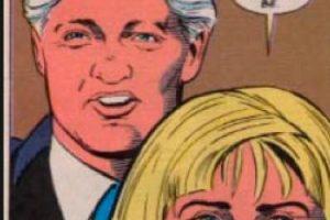 Los dos aparecen dando sus condolencias. Foto:vía DC Cómics. Imagen Por: