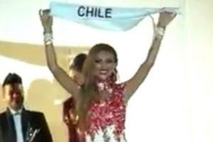 """La chilena fue la ganadora del concurso """"Miss Trans Star International"""", el pasado 15 de septiembre. Foto:Vía Vimeo. Imagen Por:"""